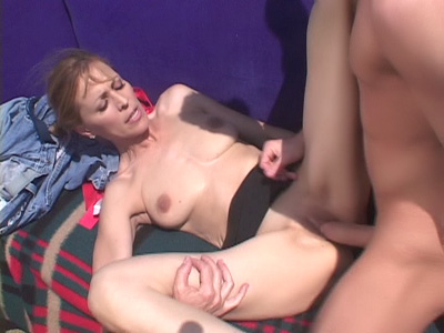 Nicole's Outdoor Mature Sex Movie